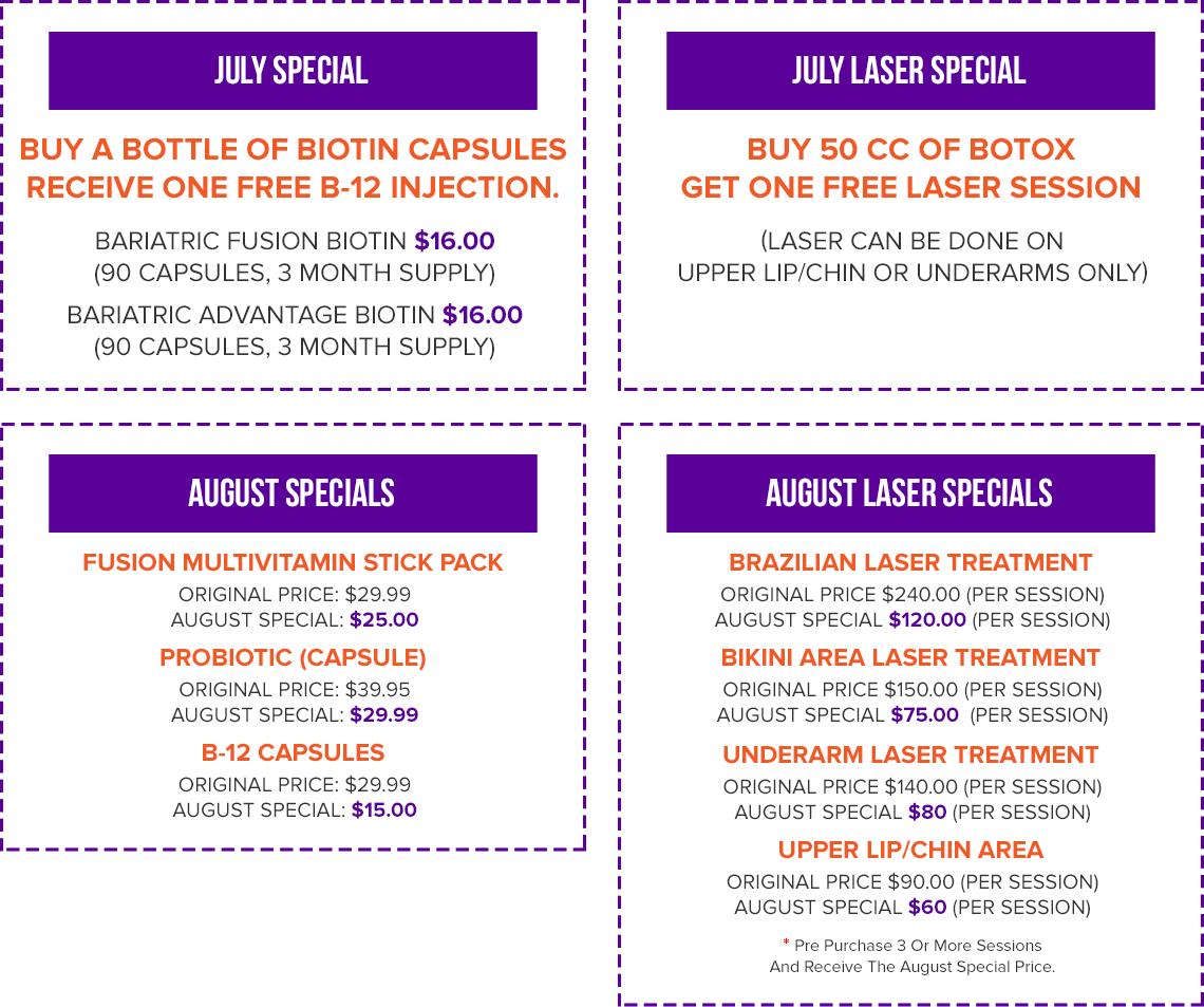 Bariatric Surgery Special Offers
